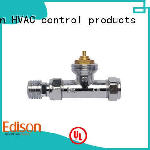 comfortable angle electronic thermostatic radiator valves Edison Brand