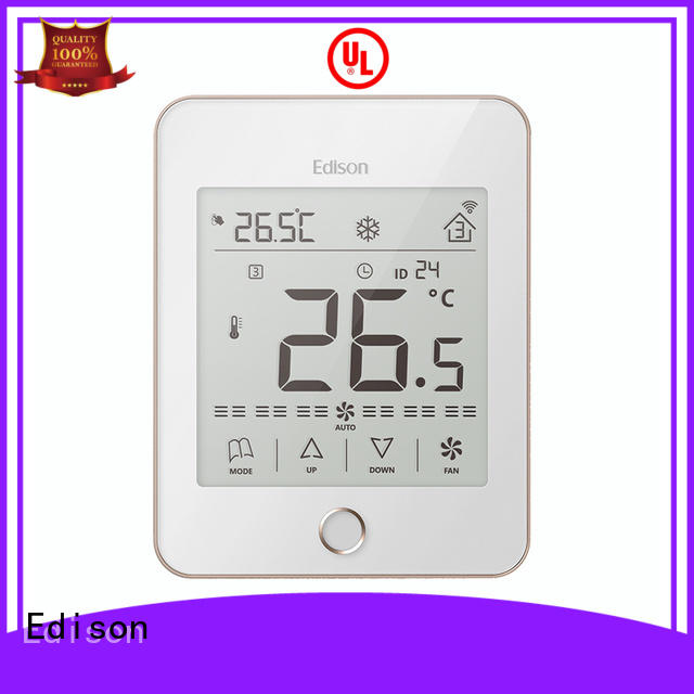 Edison high quality thermostat control room for apartments