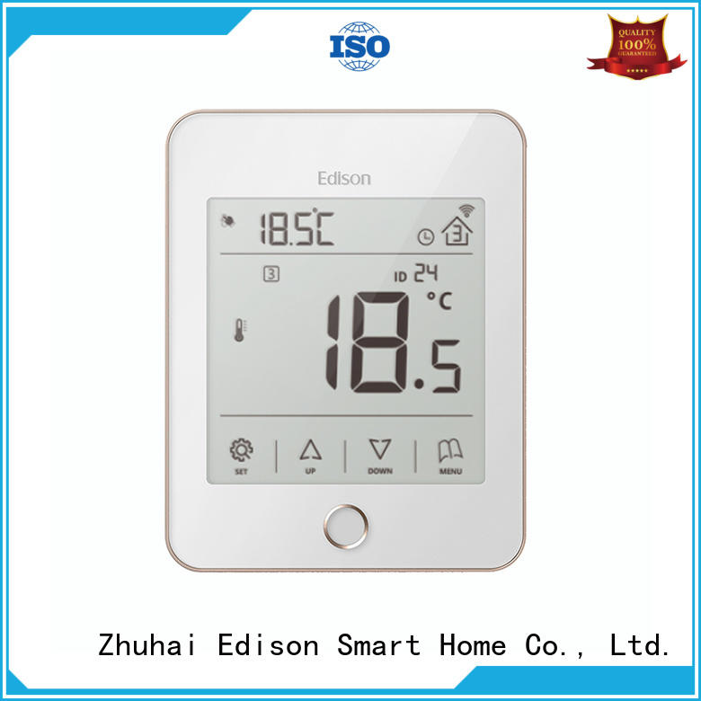 Edison electric heat only thermostat wholesale for electric heating control system
