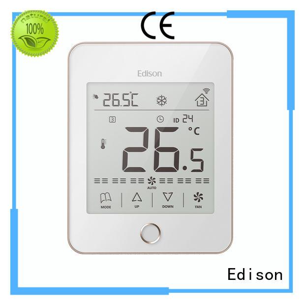 Edison screen thermostats wholesale for villas