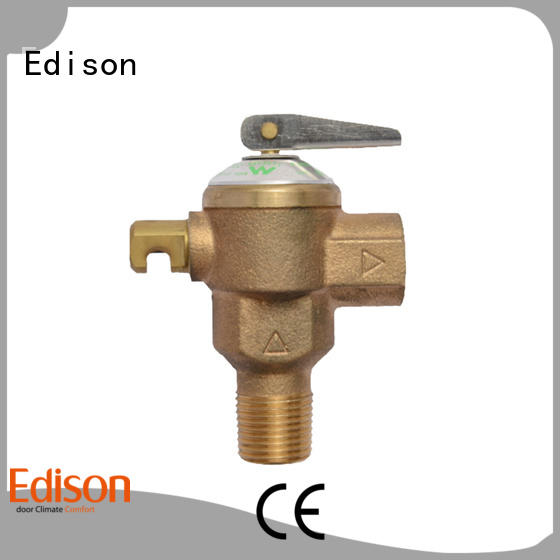 Edison expansion pressure release valve manufacturer for hardware store