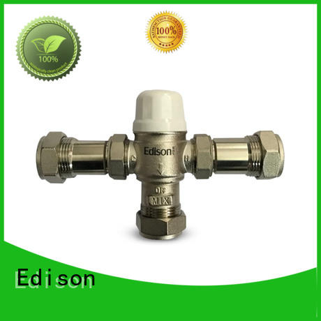 durable thermostatic diverter valve function for hotels Edison