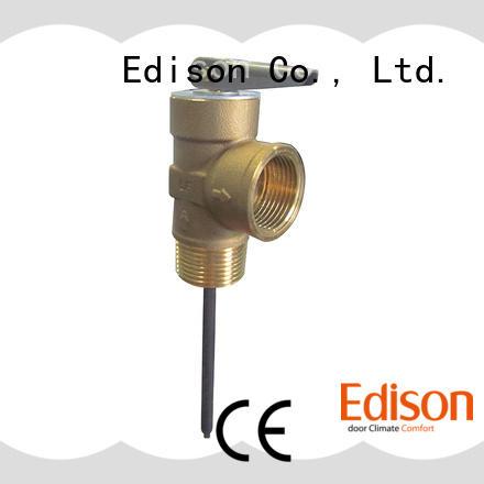 Edison temperature t&p relief valve temperature industry
