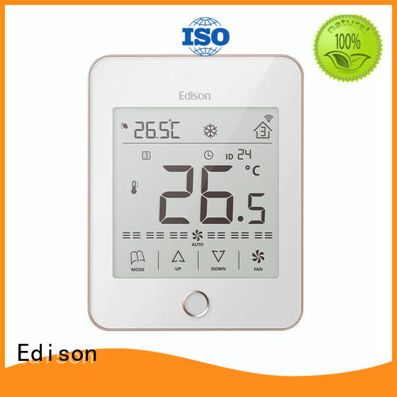 Edison touch touch thermostat ac for villas