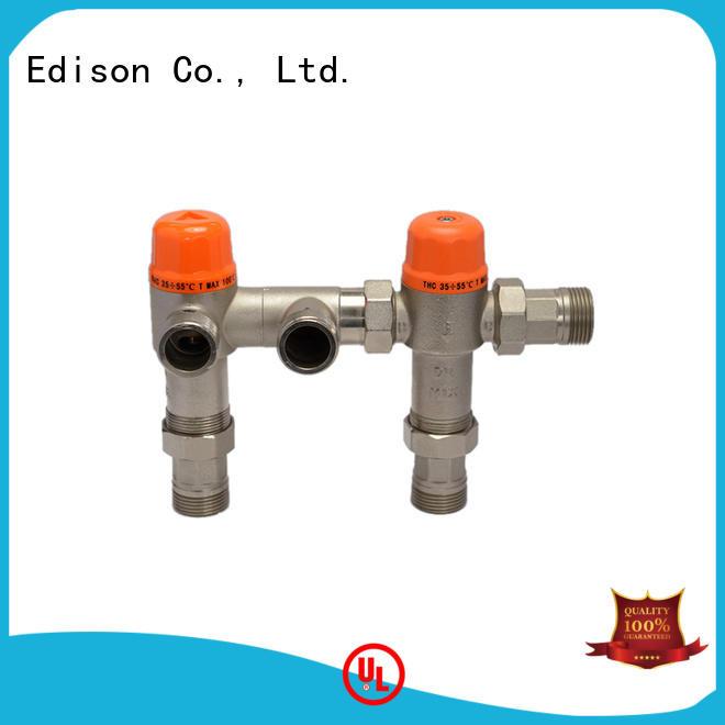 Edison thermostatic thermostatic blending valve storage for shopping malls