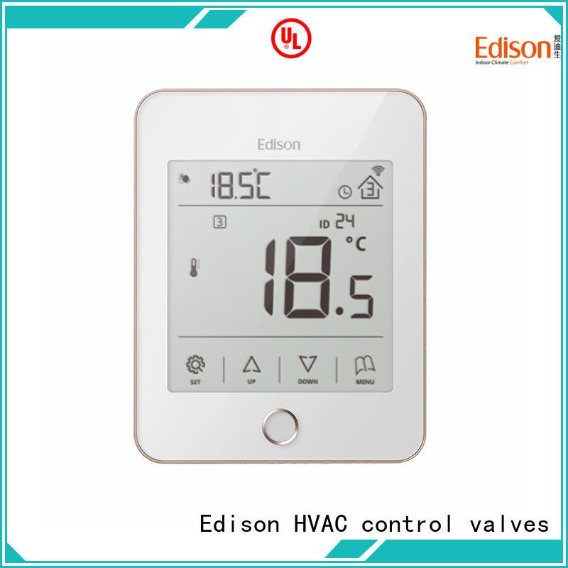Edison online underfloor heating controls wholesale for industry