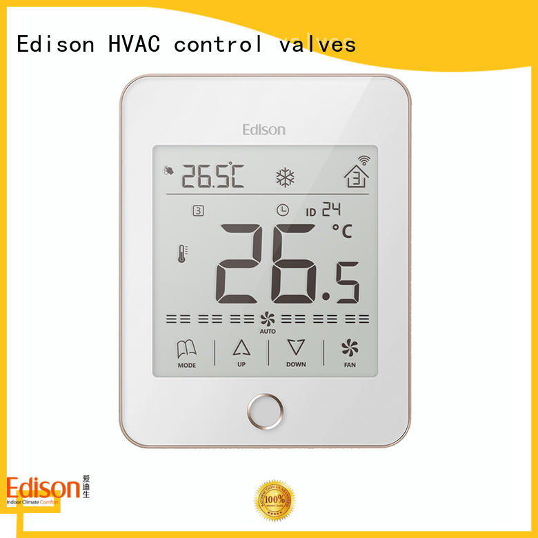 Edison room thermostats wholesale for larger family homes
