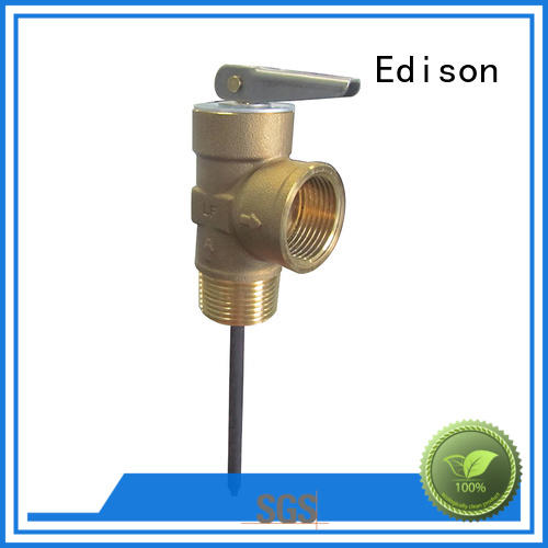 Edison durable tp valve wholesale for water heaters