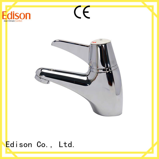 durable DZR thermostatic basin mixer tap Edison manufacture