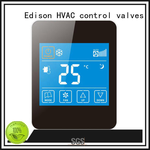 Edison durable wireless thermostat supplier for larger family homes