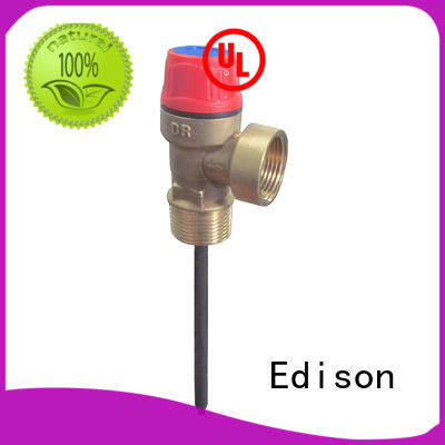 Edison relief pressure release valve manufacturer for industry