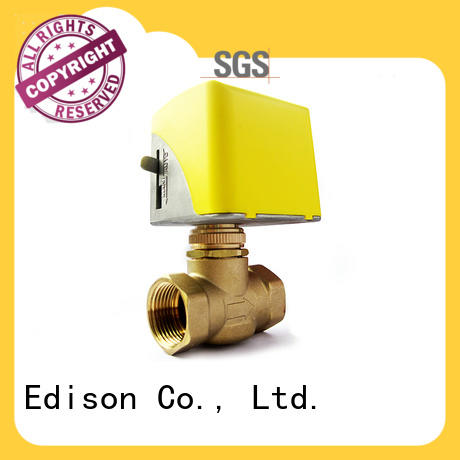Edison energy-saving motor operated valve wholesale for air conditioning