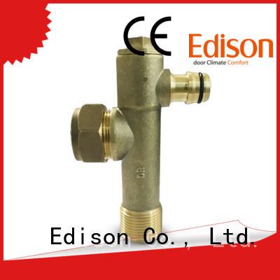 brass cock pressure bypass valve bypass valve Edison Brand