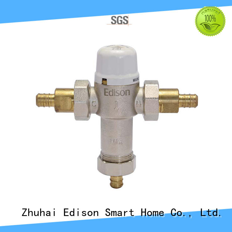 Edison pex water tempering valve production for hardware store