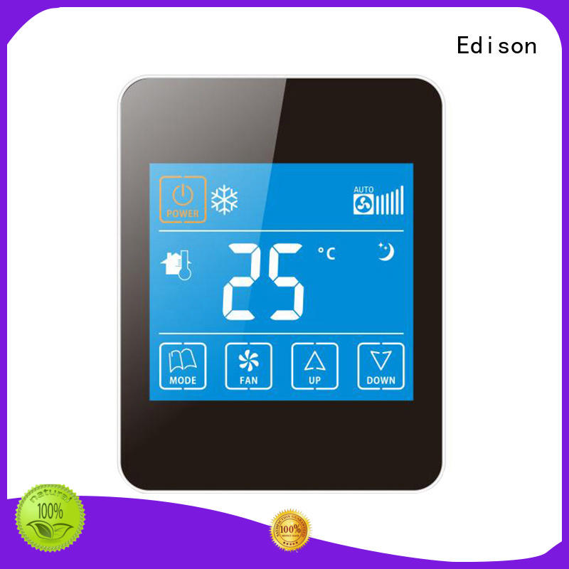 Edison Brand screen ac smoothly room wireless thermostat