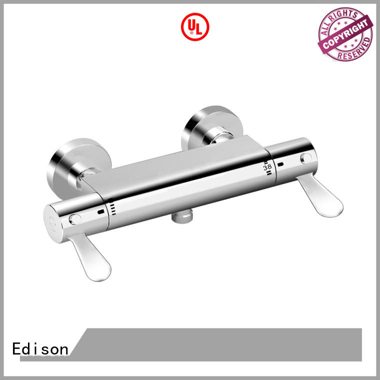 Edison heating shower mixer taps thermostatic for industry