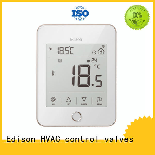 thermostat underfloor heating controls instructions production for industry Edison