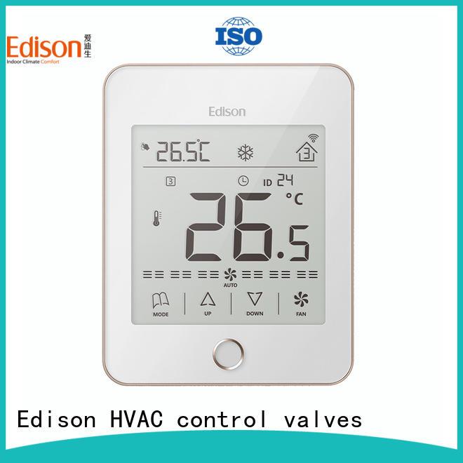 Edison ac room thermostat series for villas