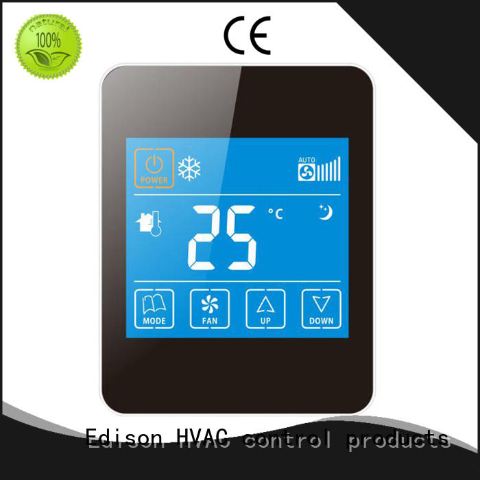 touch automatic thermostat manufacturer for apartments