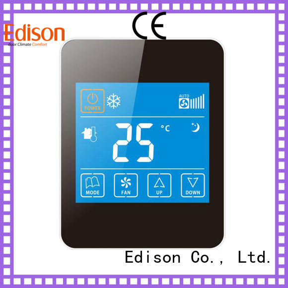 Edison Brand touch safety comfortable digital thermostat ac