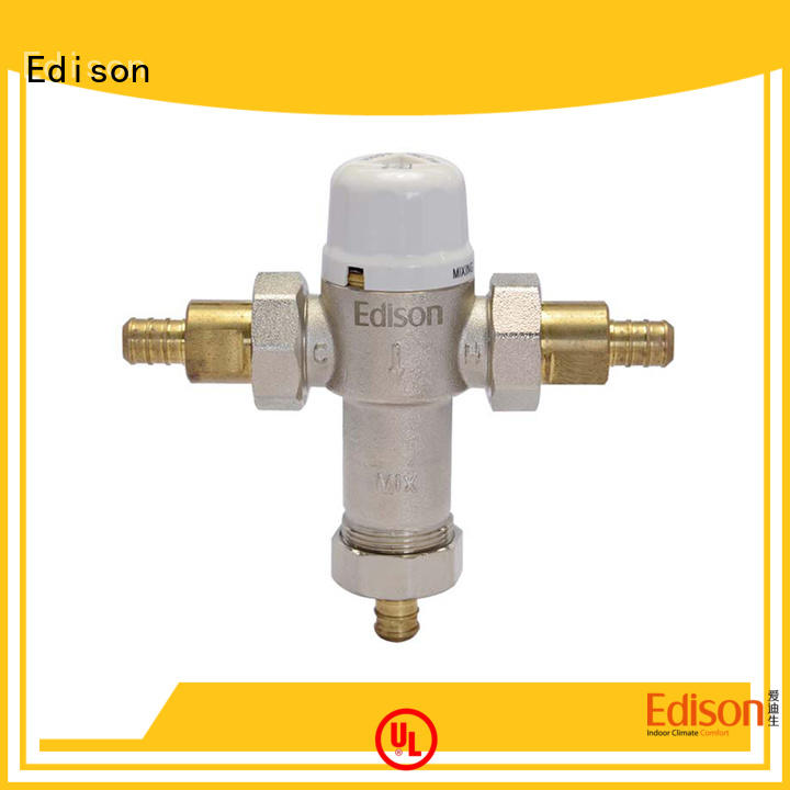 online hydronic mixing valve valve production for shopping malls