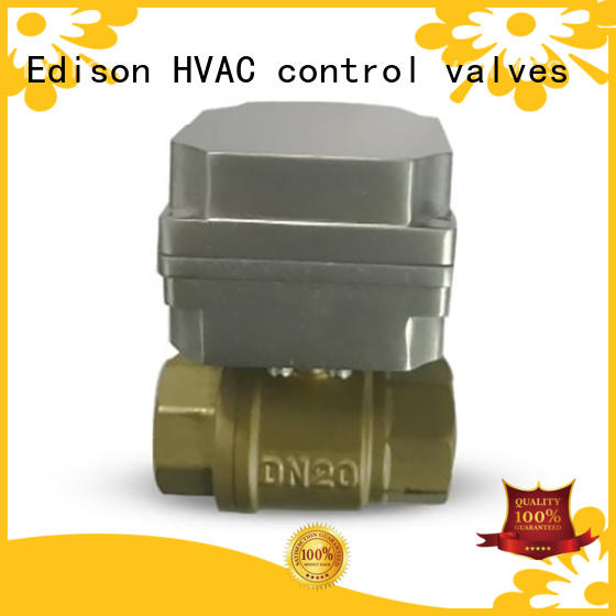 reliable motorised ball valve ball with high-temperature resistance for industry