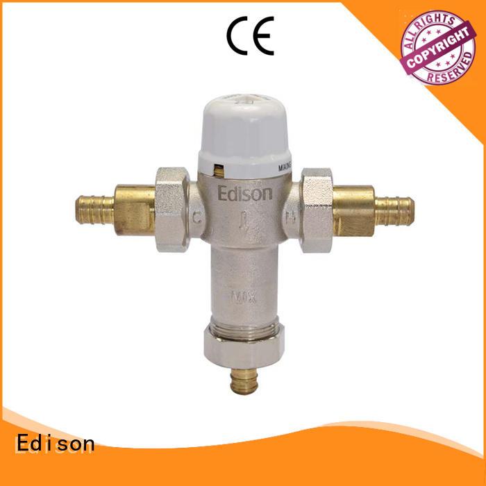 thermostatic anti scald mixing valve wholesale for hardware store Edison