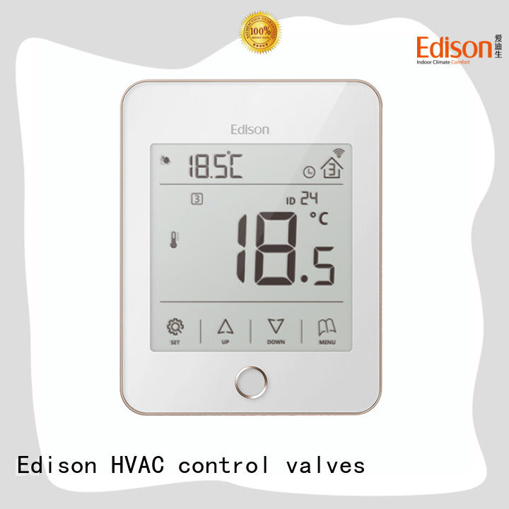 Edison heating heat only thermostat sale for electric heating control system
