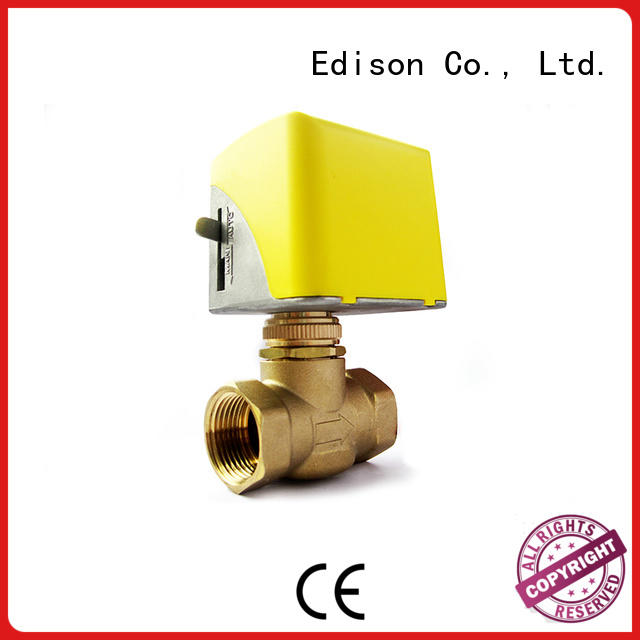 heating motor operated valve supplier for air conditioning