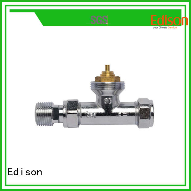 thermostatic smart radiator valve straight wholesale for apartments