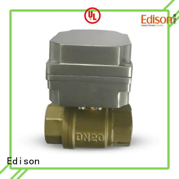 sale electric ball valve wholesale for shop Edison