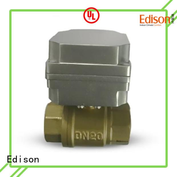 sale electric ball valve wholesale for shop Edison