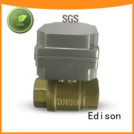 Edison online motorised ball valve manufacturer for shop