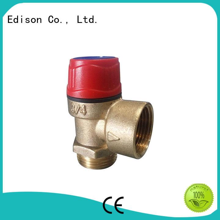 Edison online water pressure relief valve regulator for water heater