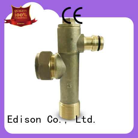 Edison frostvalve radiator drain off valve production for shop