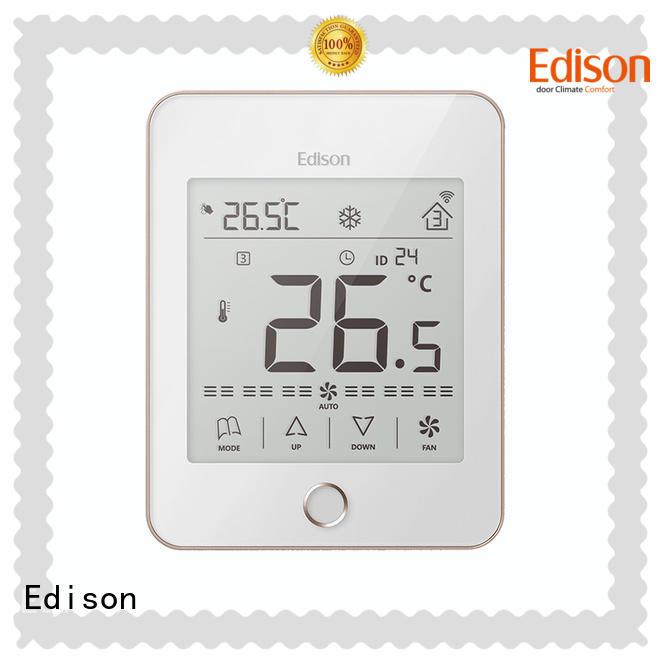 Edison modbus room thermostat wholesale for apartments