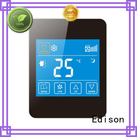 Edison durable room thermostat series for hotels