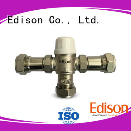 thermostatic valve regulating for hotels Edison