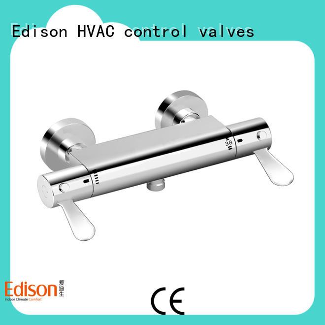 Edison shower shower mixer taps manufacturer for hardware store