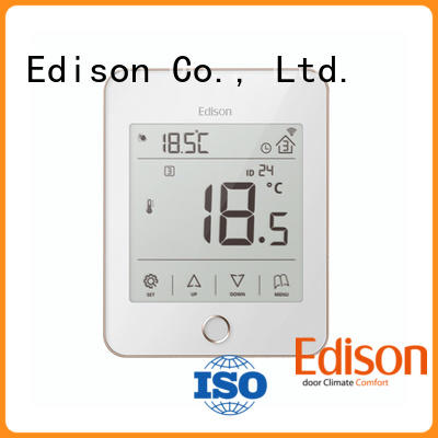 Edison thermostat wireless heating thermostat production for industry