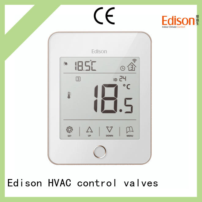 Edison online heating room thermostat production for industry