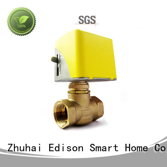 Edison cooling motorised valve production for hardware store