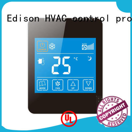 ac internet thermostat touch for hotels Edison