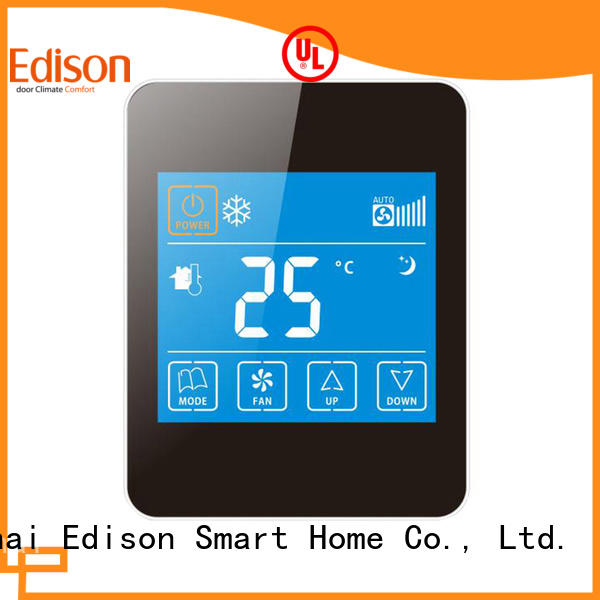Edison high quality thermostats series for villas