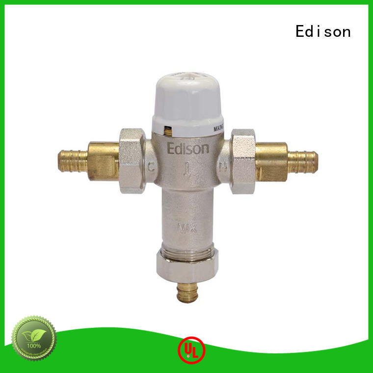 ball hydronic mixing valve series for shopping malls Edison