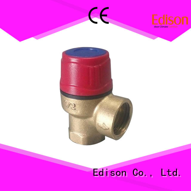 Edison durable water pressure reducing valve valve for hardware store
