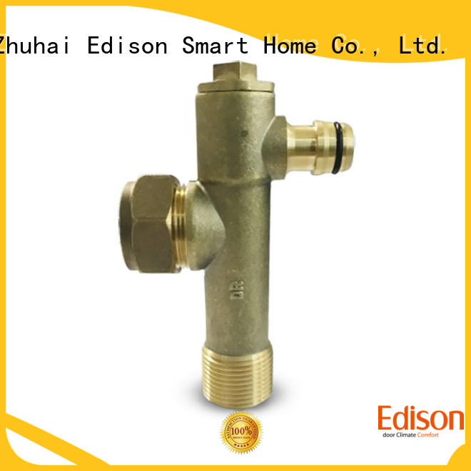Edison safety radiator drain valve series for shop