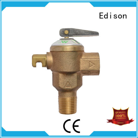 durable pressure release valve temperature supplier for boilers