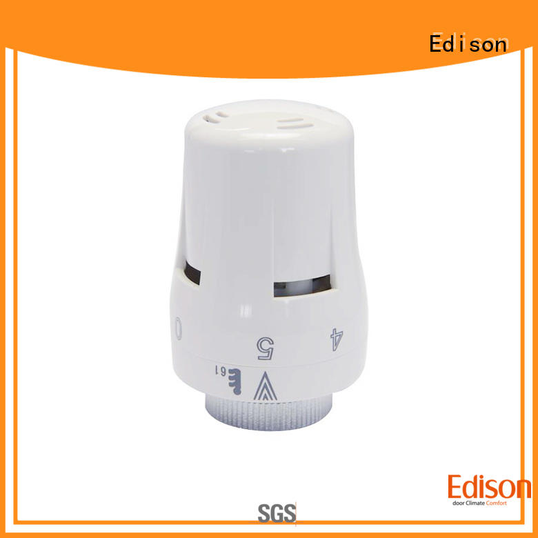 Edison high quality smart radiator valve series for apartments