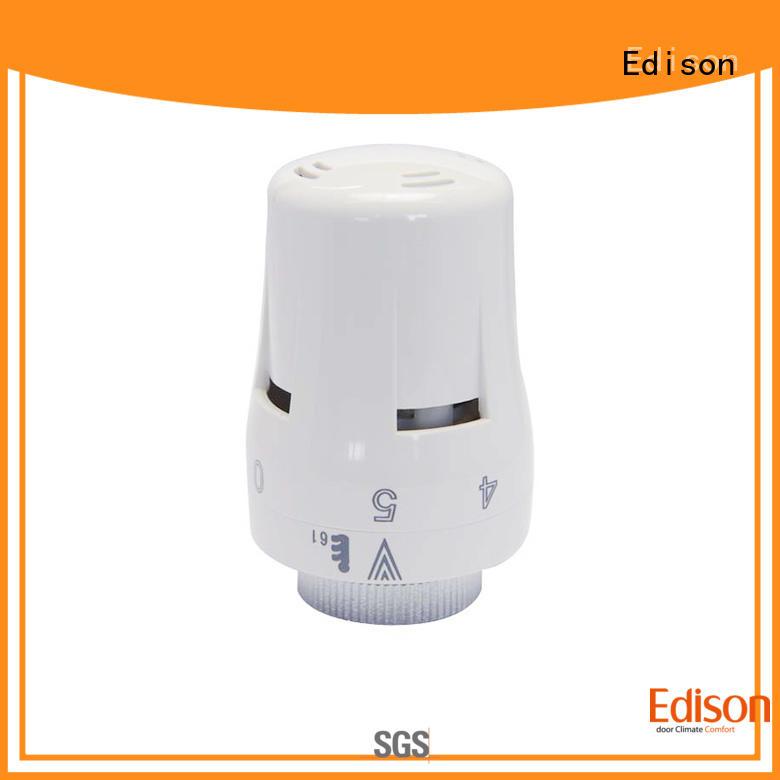 Edison high quality smart radiator valve series for apartments